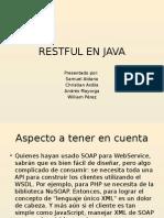 Restful en Java
