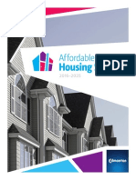 City of Edmonton affordable housing strategy