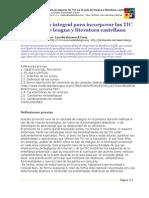 Proyecto Integral Para Incorporar Las TIC en El Aula de Lengua y Literatura Castellana