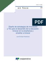 Diseño de estrategias de innovación y TIC