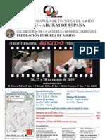 Curso Internacional de Aikido Maestro Tamura
