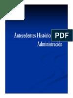Antecedentes Históricos de La Administración 2
