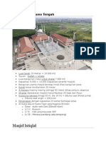 Masjid Istiqlal Dan Masjid Jawa Tengah