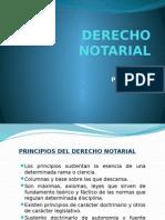 Principios notario
