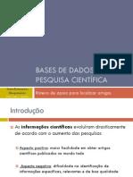 UFABC - Roteiro - Bases de Dados