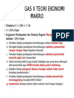 Contoh Soal Teori Ekonomi Makro