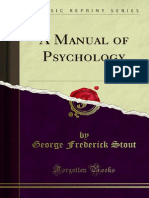 A Manual of Psychology