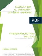Vivienda Productiva Verde mendoza