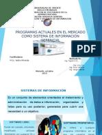 Programas Actuales en El Mercado Como Sistema de Información Gerencial