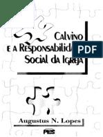 Calvino e a Responsabilidade Social Da Igreja
