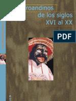Los Afroandinos Del S. XVI Al XX