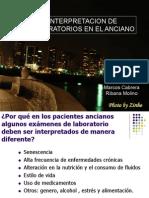Ribana Molino y Marcos Cabrera- Interpretacion de Laborator