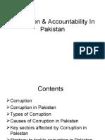 Corruption & Accountability in Pakistan