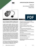Sensor Comubustível de Gás 90-7041-6.2_CGS