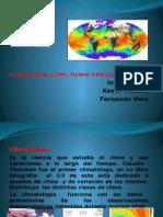 Climatología. Trabajo de G. Física.