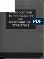 Lee J. Bain and Max Engelhardt - Introduction to Probability and Mathematical Statistics, Second Edition