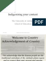 aboriginalisation of the australian curriculum