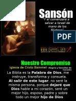 Sanson personaje de la Biblia