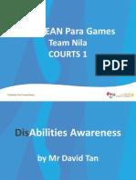 APG Team Nila Courts 1 Disability Awareness
