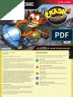 Crash Nitro Kart - Manual - NG