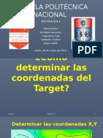 Reservorio Coordenadas Target