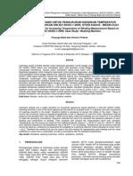 METODE RESISTANSI UNTUK PENGUKURAN KENAIKAN TEMPERATUR LILITAN BERDASARKAN SNI IEC 60335-1:2009, STUDI KASUS
