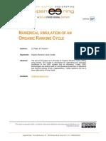 Organic Rankine Cycle 0