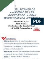 Presentacion de La Ley que Rige a la Gran Misión Vivienda Venezuela