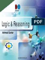 Guntar = Logic & Reasoning