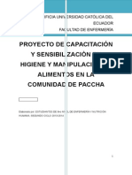Proyecto a Largo Plazo Paccha