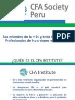 CFA Society Perú - Club de Finanzas - Semana FCA 2015