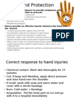 Hand Protection, Safety presentation