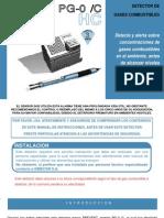 Detector de GCombustibles PGO-C