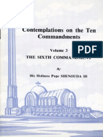 Contemplations on the Ten Commandments Vol 3 Sixth Commandment