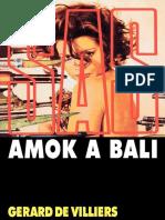 SAS 017 - Amok a Bali - De Villiers Gerard.epub