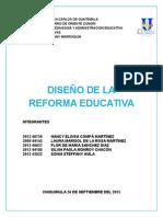 reforma educativa  1