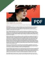 La Escritora Amélie Nothomb