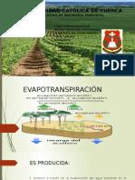 evapotranspiracion