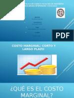 Costos Marginales Corto y Largo Plazo