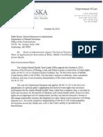 Alaska Mental Health Trust - Chuitna Water Reservation Appeals