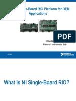 National Instruments - Single-Board RIO Platform for OEM Applications