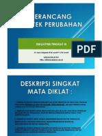 Merancang Proyek Perubahan Materi Diklat PIM III