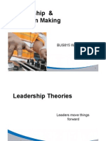 BUS815 L10-11Decision Making Leadership Slides