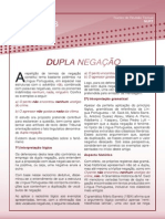 DUPLA NEGACAO_Artigo