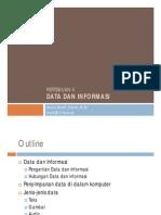 02. Data Dan Informasi