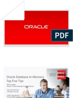 CON7248 Top 5 Things to Know About Oracle in-memory Database