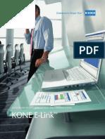 Kone e Link Elevator Escalator Monitoring and Command