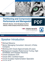 UGF3839 Partitioning and Compression for Performance and Manageability