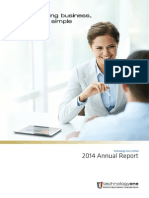 TechnologyOne Full Year Report 2014