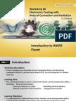 Fluent-Intro 15.0 WS06 Electronics Cooling Plus EKM Rev2